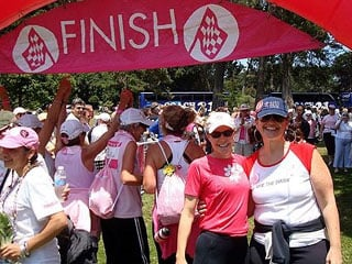 Kadi and me at the end of the Avon Walk for Breast Cancer in San Francisco!  39.3 miles walked in two days!