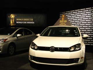 The Volkswagen BlueMotion Golf
