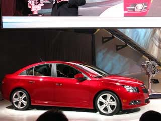 The 2011 Cruze RS will go on sale later this year. (photos ©Dan Meade)