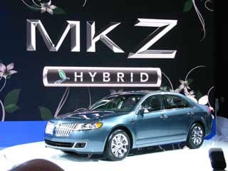 The debut of the Lincoln MKZ Hybrid.