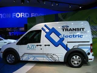 Ford's alternative to the pickup truck, the Transit Connect.