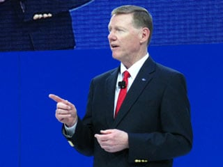 Alan Mulally, President and CEO of Ford.