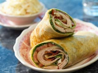 Leftover turkey is perfect for these spicy post-Thanksgiving wraps. (©iStockphoto.com/Paul Johnson)