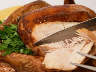 Turkey is simple to prepare, but don't take shortcuts with food safety. (©iStockphoto.com/Paul Cowan)