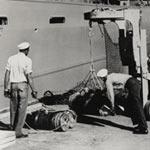 Loading explosives in Port Chicago