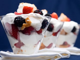 You can use any fruit you choose to create a delicious and nutritious parfait. (&copy iStockphoto.com)