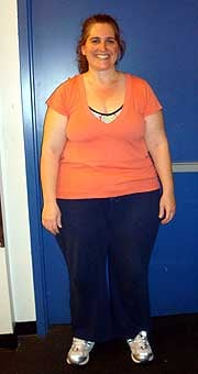 April 6, 2008 (6 weeks in and 24 pounds down!)
