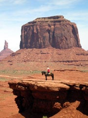 John Ford Point in Monument Valley, a Navajo Nation National Park. (©Barry Abisch/WorldNow)
