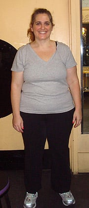 June 27, 2008:  48.5 pounds down!