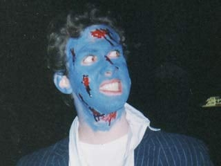 With the right makeup tips, you won't end up looking like this on Halloween. (©Krista Ryan)