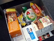 Take a peek at my snack drawer!